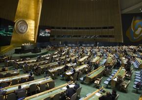 BMT Baş Assambleyasının 75-ci sessiyası başlayıb