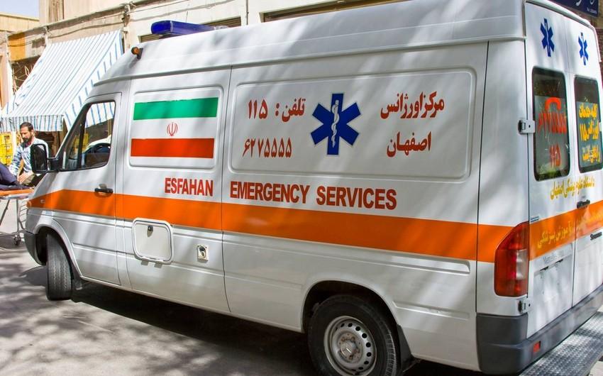 İranda partlayış olub, xəsarət alanlar var