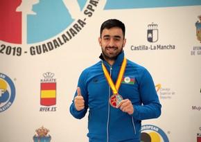 Две медали от азербайджанских каратистов в Премьер-лиге