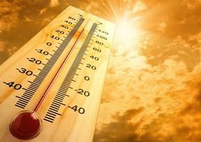 Sabah havanın temperaturu 39 dərəcəyədək artacaq