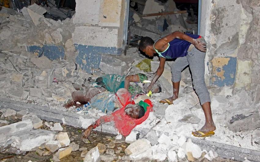 Somalidə otelə hücum nəticəsində 14 nəfər həlak olub