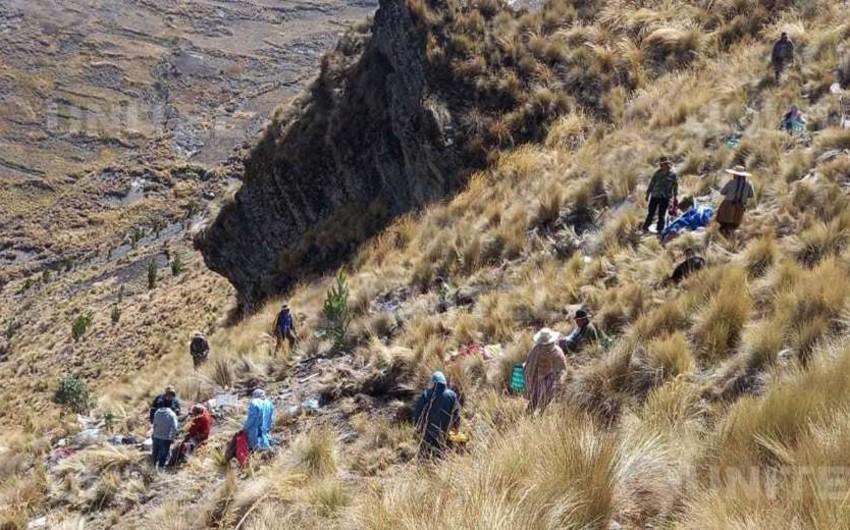 В Боливии при ДТП с автобусом погибли десятки человек