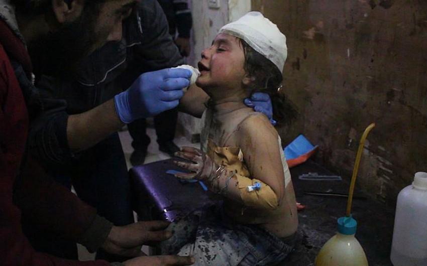 Suriyanın İdlib şəhəri bombardman edilib: 6 ölü, 8 yaralı