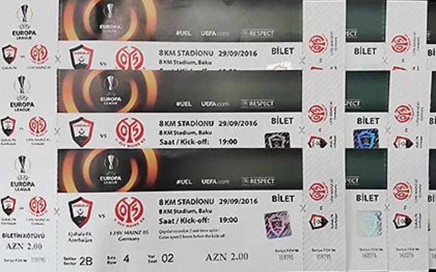 На продажу поступили билеты матча Габала - Майнц