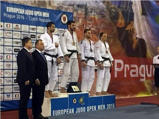 Azerbaijani judo fighters win 2 European medals