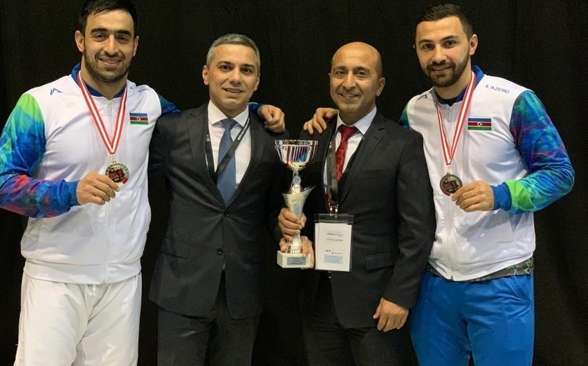 Azərbaycan karateçiləri Seriya A turnirində qızıl və bürünc medal qazanıblar