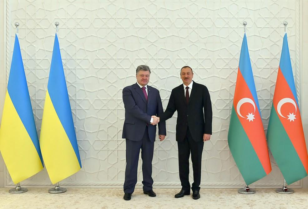 Poroshenko: Issue of territorial integrity unites Azerbaijan and Ukraine more tightly