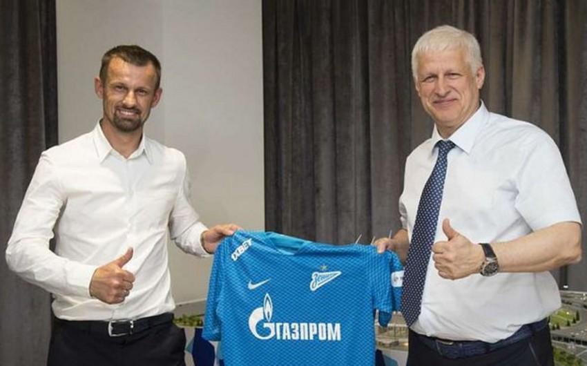 Rusiyanın Zenit komandasına yeni baş məşqçi təyin olunub