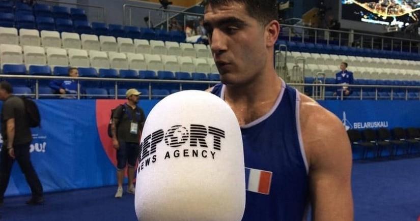 Tokio-2020: Fransa millisinin azərbaycanlı boksçusu hakimləri təhqir edib
