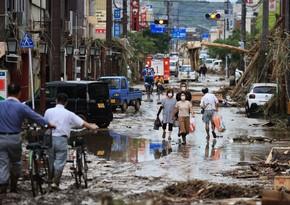 В Японии более 400 тыс. человек получили указание к эвакуации из-за ливней