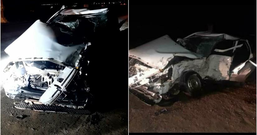 Тяжелое ДТП в Шабране: погибли 2 человека, есть пострадавшие