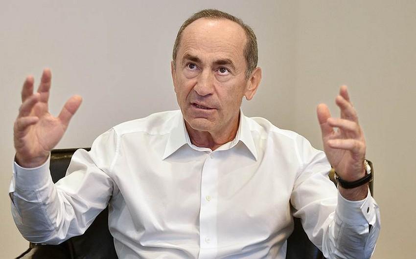 Robert Koçaryan: İstintaq qrupu 2008-ci il martın 1-də Ermənistanda baş verən hadisələrlə bağlı işin üstünü açmağa çalışmır