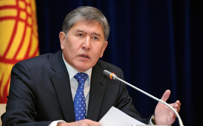 Qırğız Respublikasının sabiq prezidentinə qarşı cinayət işi açıla bilər