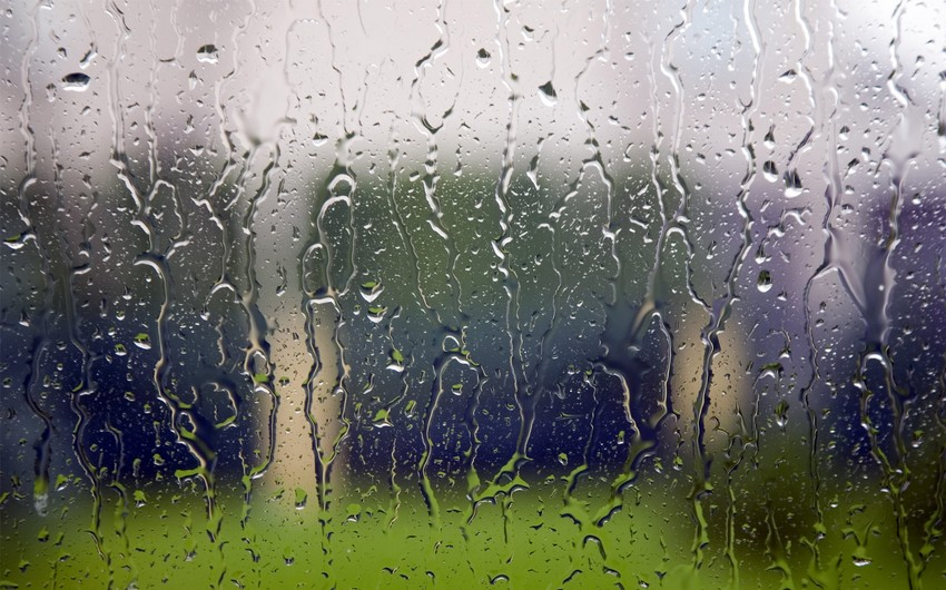 Rain and lightning forecasted for Azerbaijani regions on August 29