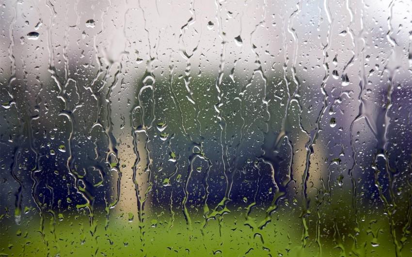 Sabah Azərbaycanın bəzi rayonlarında yağış yağacaq, şimşək çaxacaq