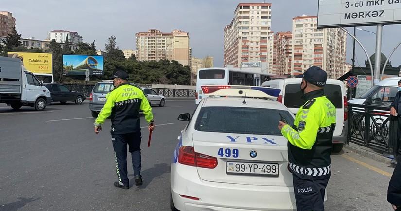 Bakıda reyd keçirildi, yol polisini aldatmaq istəyən sürücülər aşkarlandı