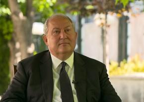 Armen Sarkisyan seçki məcəlləsinə dəyişikliyi imzalamaqdan imtina edib