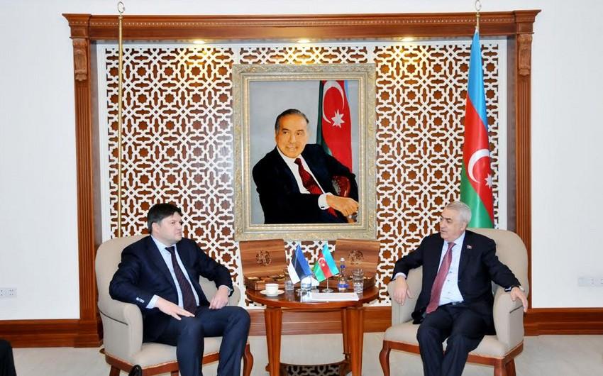 Azərbaycan və Estoniya dəmir yolları sahəsində əməkdaşlığı genişləndirir
