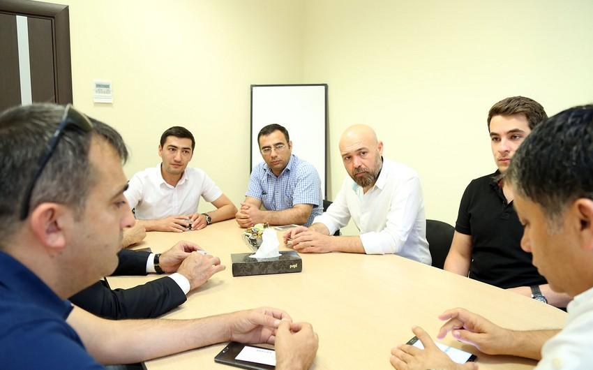 """Report"" Information Agency hosts Turkish journalists"