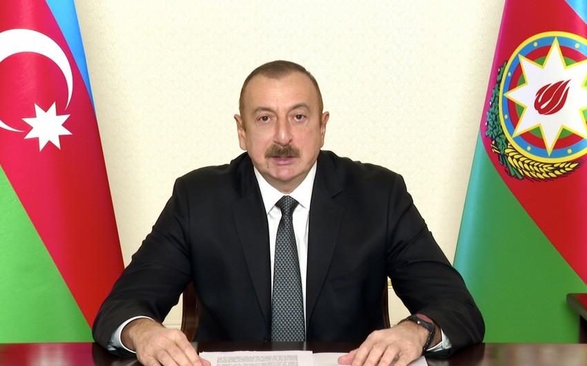 İlham Əliyev BMT Baş Assambleyasının COVID-19 ilə mübarizəyə həsr edilən xüsusi sessiyasında çıxış edib