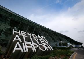 Сильный ветер не повлиял на работу Бакинского аэропорта
