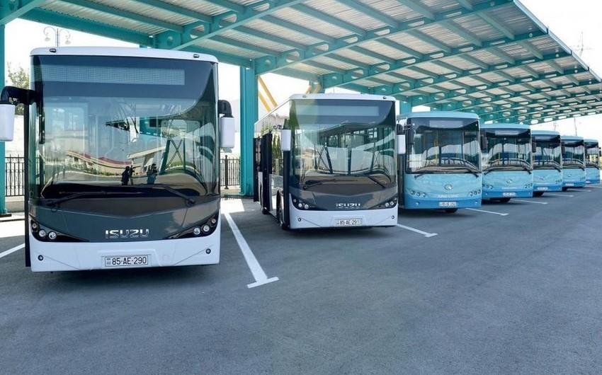Noyabrda Naxçıvan-Bakı-Naxçıvan avtobus marşrutu ilə 2 mindən çox sərnişin daşınıb