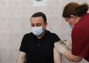 Georgian prime minister fully vaccinated
