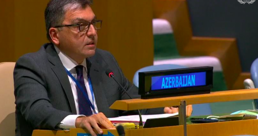 Azərbaycan nümayəndəsi BMT-nin iclasında Paşinyana cavab verdi