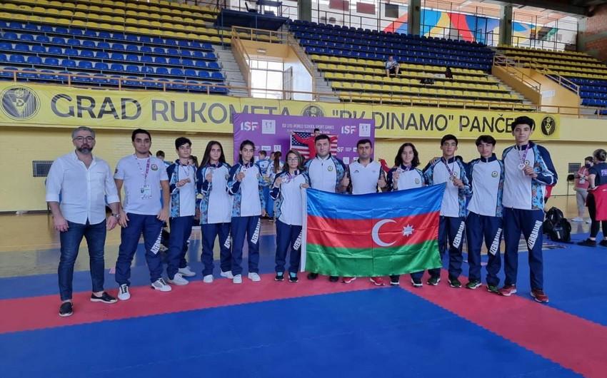 Azerbaijani schoolchildren won numerous medals in Belgrade