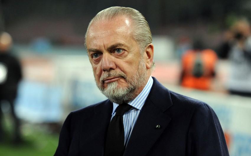 İtaliya klubunun prezidenti koronavirusa yoluxdu