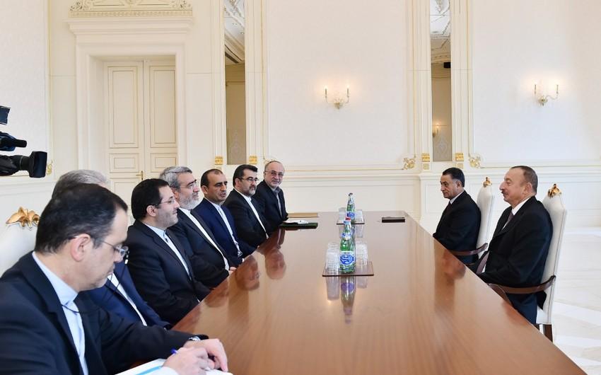 Prezident İlham Əliyev İranın daxili işlər nazirini qəbul edib - ƏLAVƏ OLUNUB