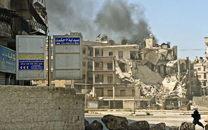 При обстреле Алеппо боевиками погибли не менее четырех человек