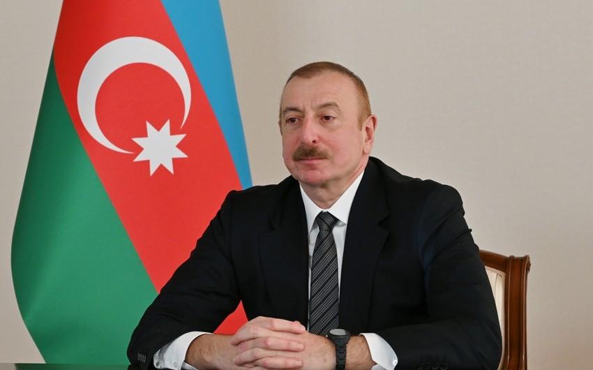 İlham Əliyev: Azərbaycan xalqı Türkiyə kimi müttəfiqi olmasından çox məmnundur