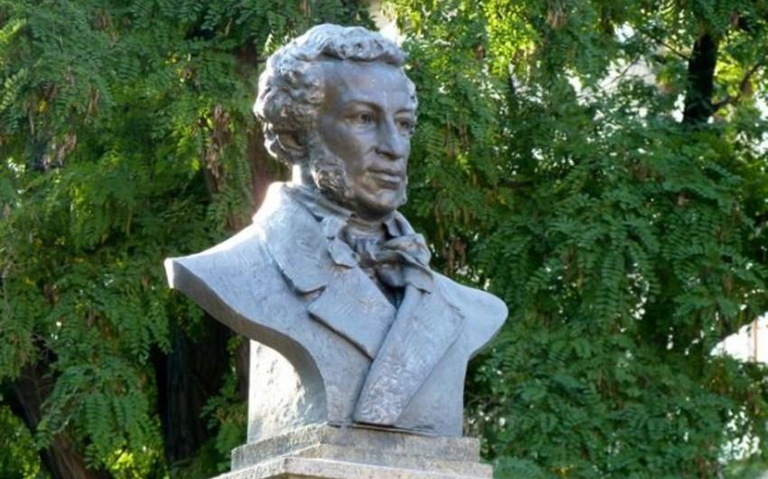 Moskvada Puşkinin heykəli oğurlanıb