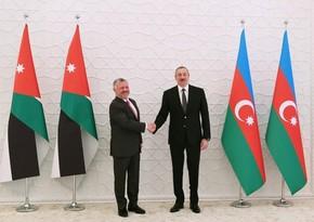 İordaniya Kralı Azərbaycan Prezidentini təbrik edib