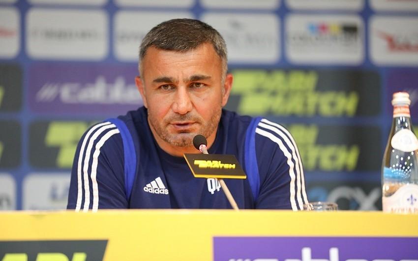 Qurban Qurbanov: Futbolçular meydanda yaxşı vuruşdular