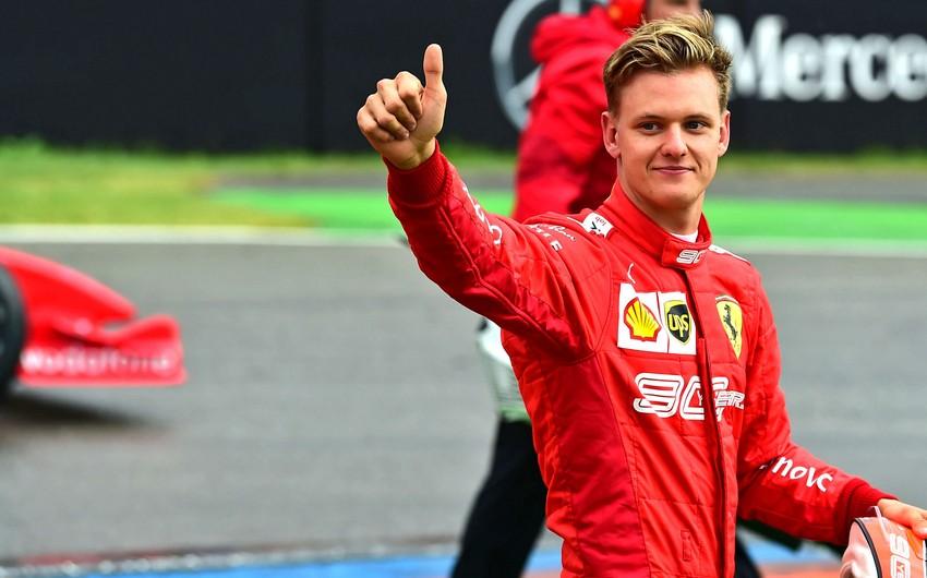 Mixael Şumaxerin oğlu Formula 1də yarışacaq