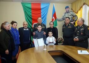 NATO Azərbaycan Ordusunun şəhid mayorunu Ləyaqətli xidmət medalı ilə təltif edib