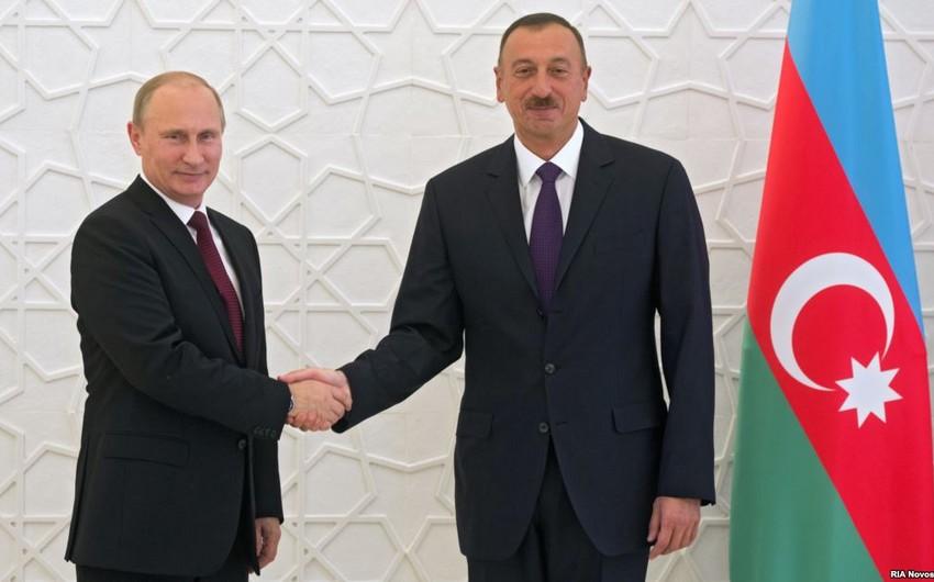 Путин направил президенту Азербайджана поздравительное письмо