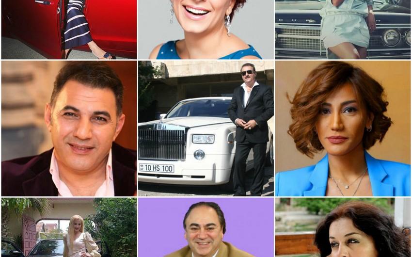 Azərbaycan müğənnilərinin avtomobil markaları və qiymətləri - SİYAHI