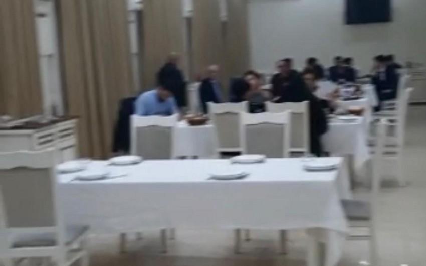 В Баку оштрафованы организаторы и участники свадьбы