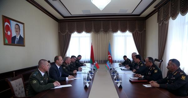 Chief of the General Staff of Azerbaijani Armed Forces met with his Belarusian counterpart