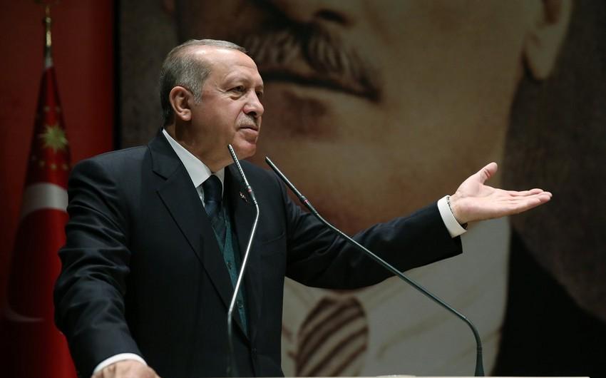 """Ərdoğan: """"Ermənistanın Azərbaycana qarşı təcavüzünü qınayırıq"""""""