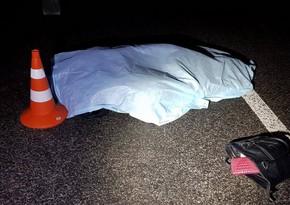 Şirvanda avtomobil piyadanı vuraraq öldürdü