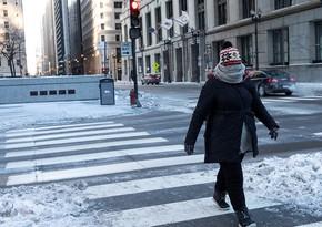 ABŞ-da soyuq hava nəticəsində ölənlərin sayı artır