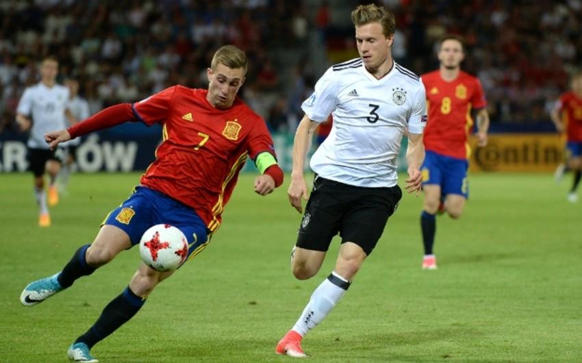 Futbol üzrə Almaniya yığması gənclər arasında Avropa çempionu olub