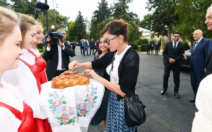 İvanovka kəndindəki Mədəniyyət Sarayı əsaslı təmirdən sonra istifadəyə verilib - YENİLƏNİB