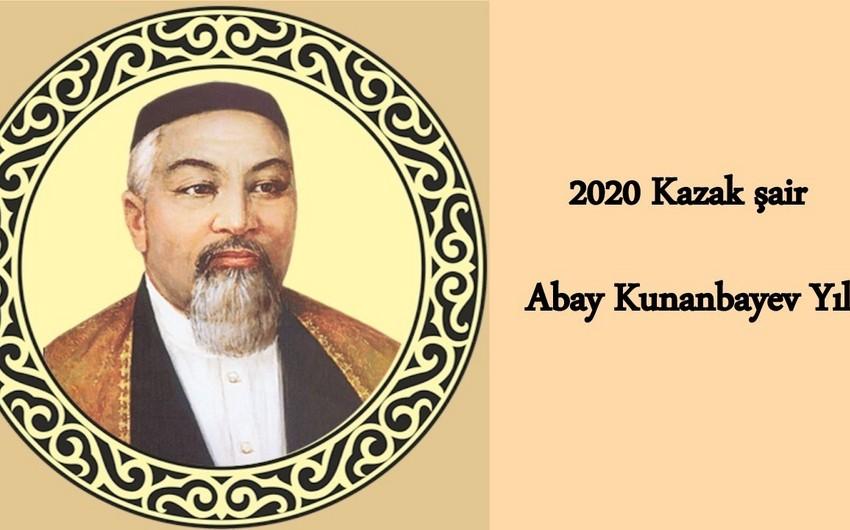 Abay Kunanbayulının 175 illiyi ilə bağlı təntənəli mərasim başlayıb