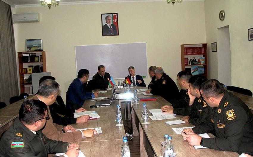 Azerbaijan and Germany hold seminar according to plan of military cooperation