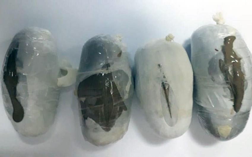 Azərbaycana heroin gətirən İran vətəndaşı saxlanılıb